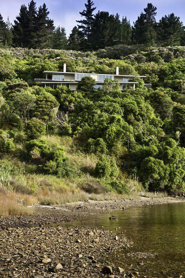 Apple Bay Property Floats Amongst The Trees In New Zealand | Decor Advisor