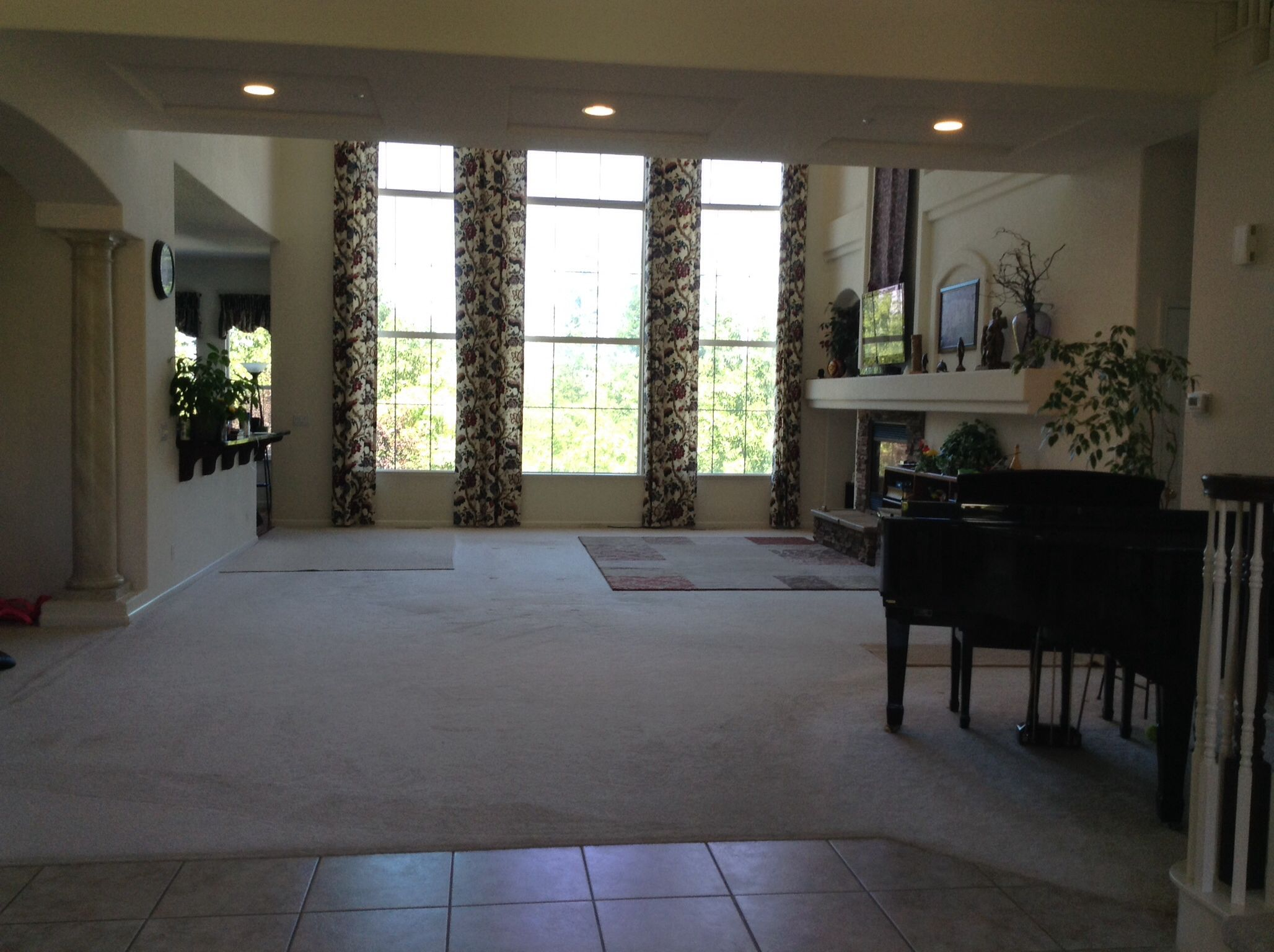 Family room view from entryway