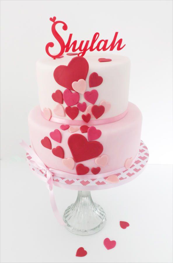 birthday cake  - Cake by Sharon, Sadie May Cakes