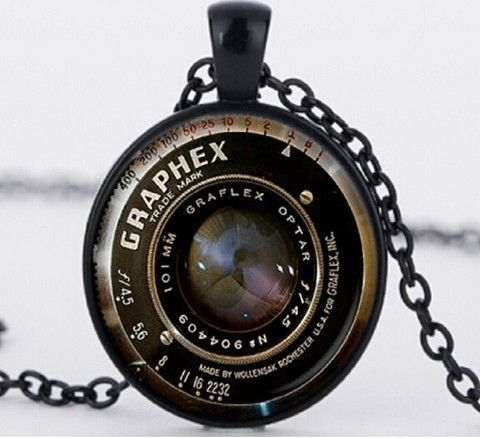 Camera lens glass pendant necklace found it pinterest camera lens glass pendant necklace mozeypictures Image collections
