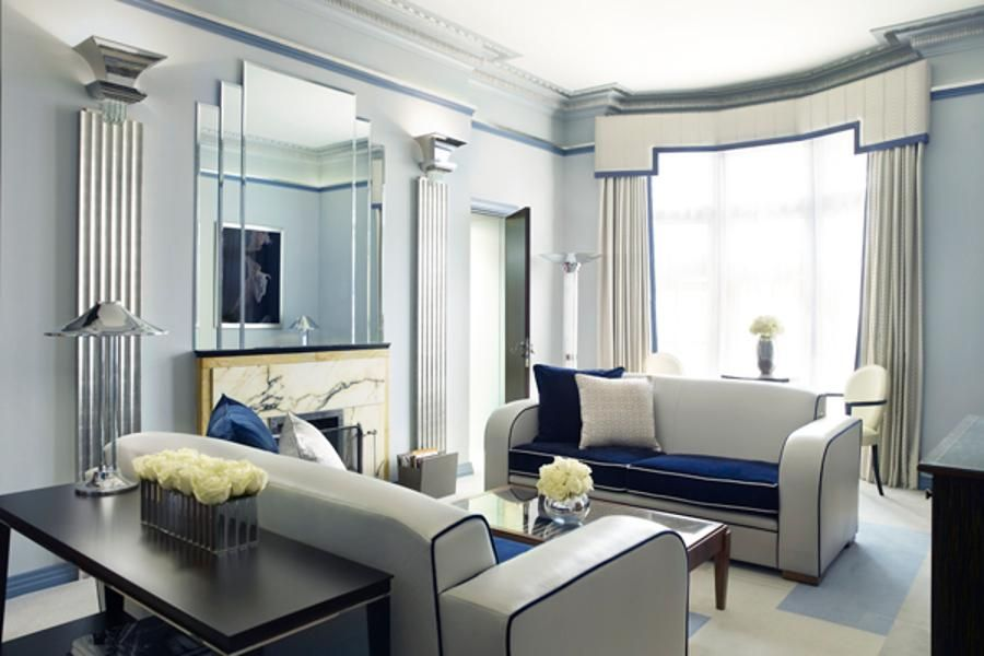 Claridge s london the chic lounge in the linley suite exudes the