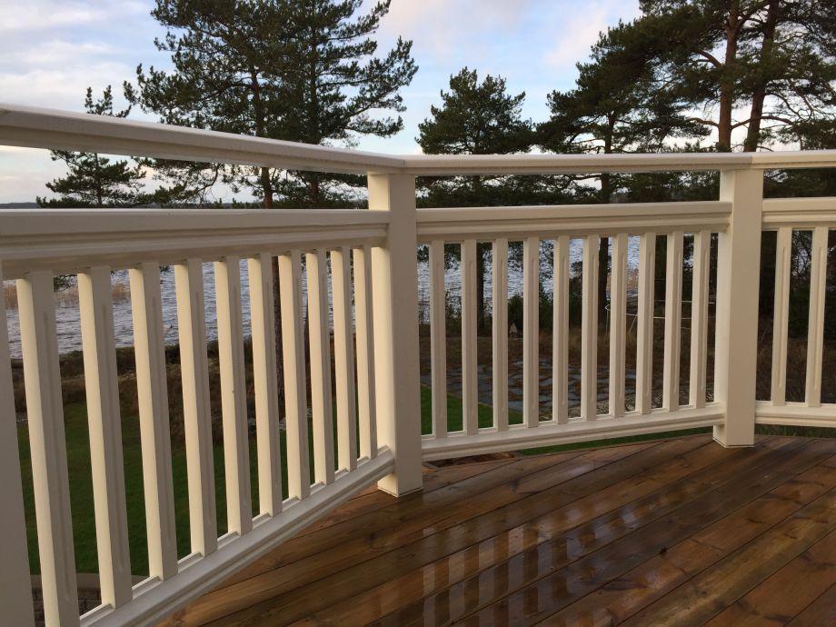 New England Altanräcke | Balkong hus, Utomhusrum, Balkongräcke