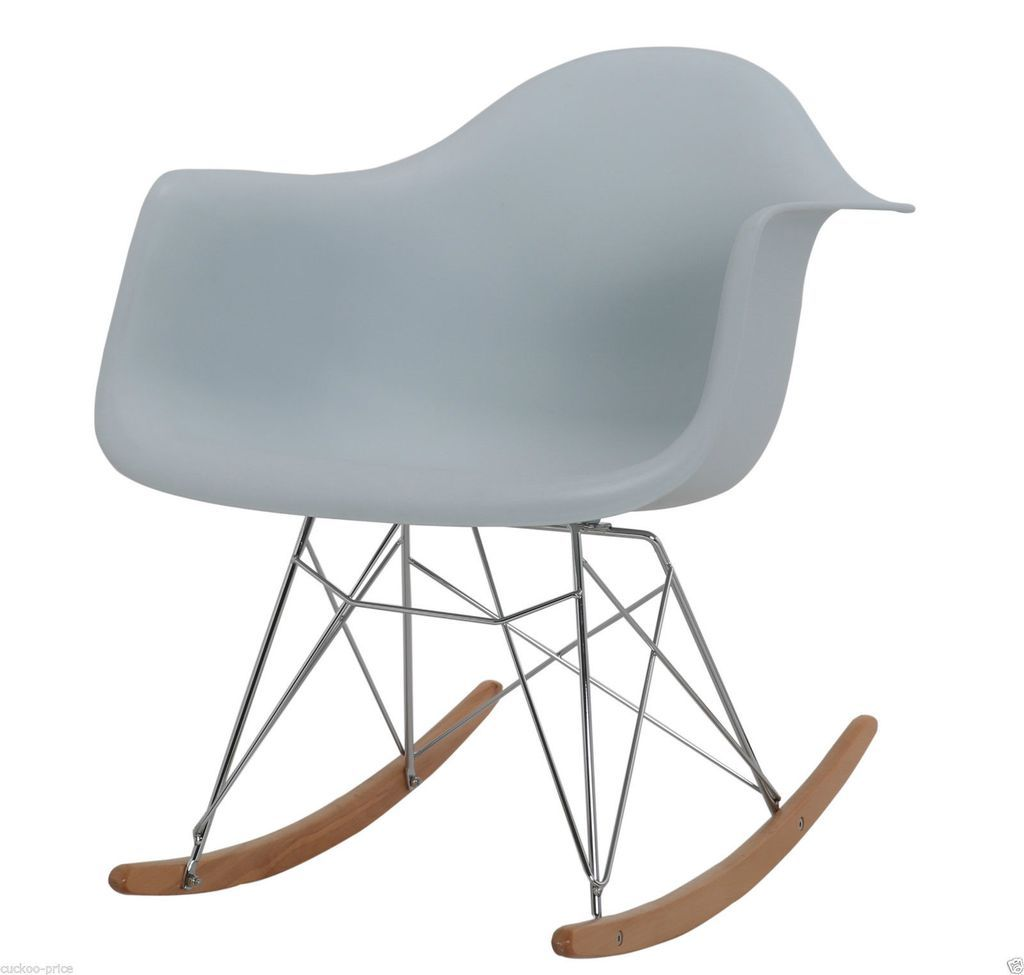 Rocking Eames Style Tub Chair Light Blue | Living room ideas ...