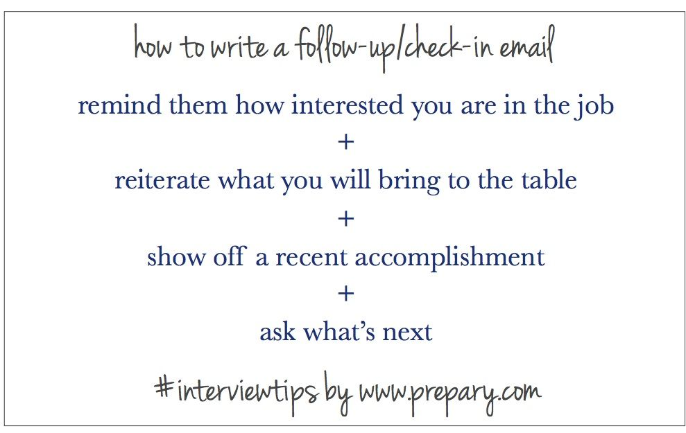 Thank You Email After Rejection Interesting How To Write A Follow Up Email After An Interview  Sample Resume .