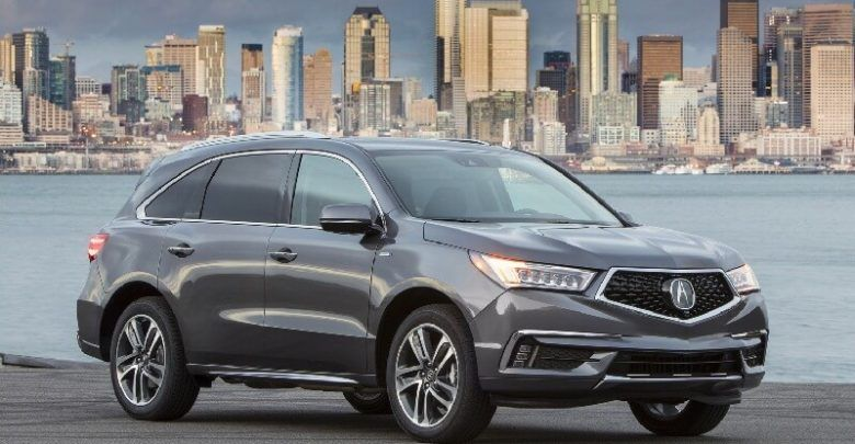 2020 Acura MDX & Hybrid Luxury SUVs