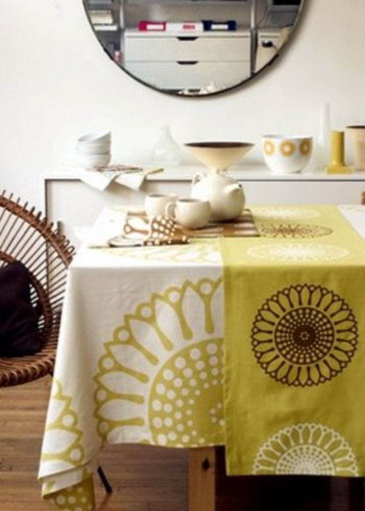 Stunning Dining Room Tablecloth Photos Ltrevents Ideas Remodel 테이블 세팅