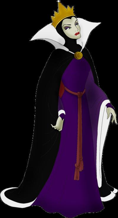 The evil queen, Grimhilde - Snow white