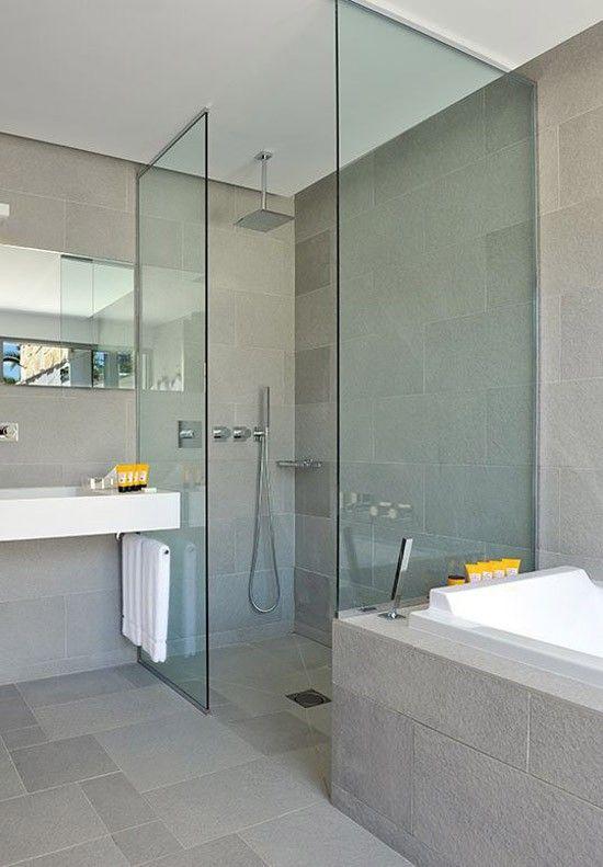 Douchecabine in de badkamer - Bathroom   Pinterest - Douchecabine ...
