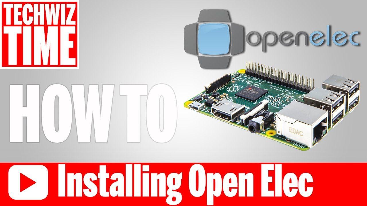 How to Install Kodi OpenElec on Raspberry Pi 3 2 1 B+ 0 Zero