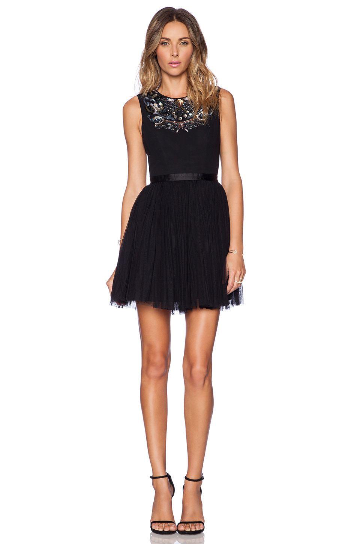 Needle u thread folk prom dress in black forest revolve my style