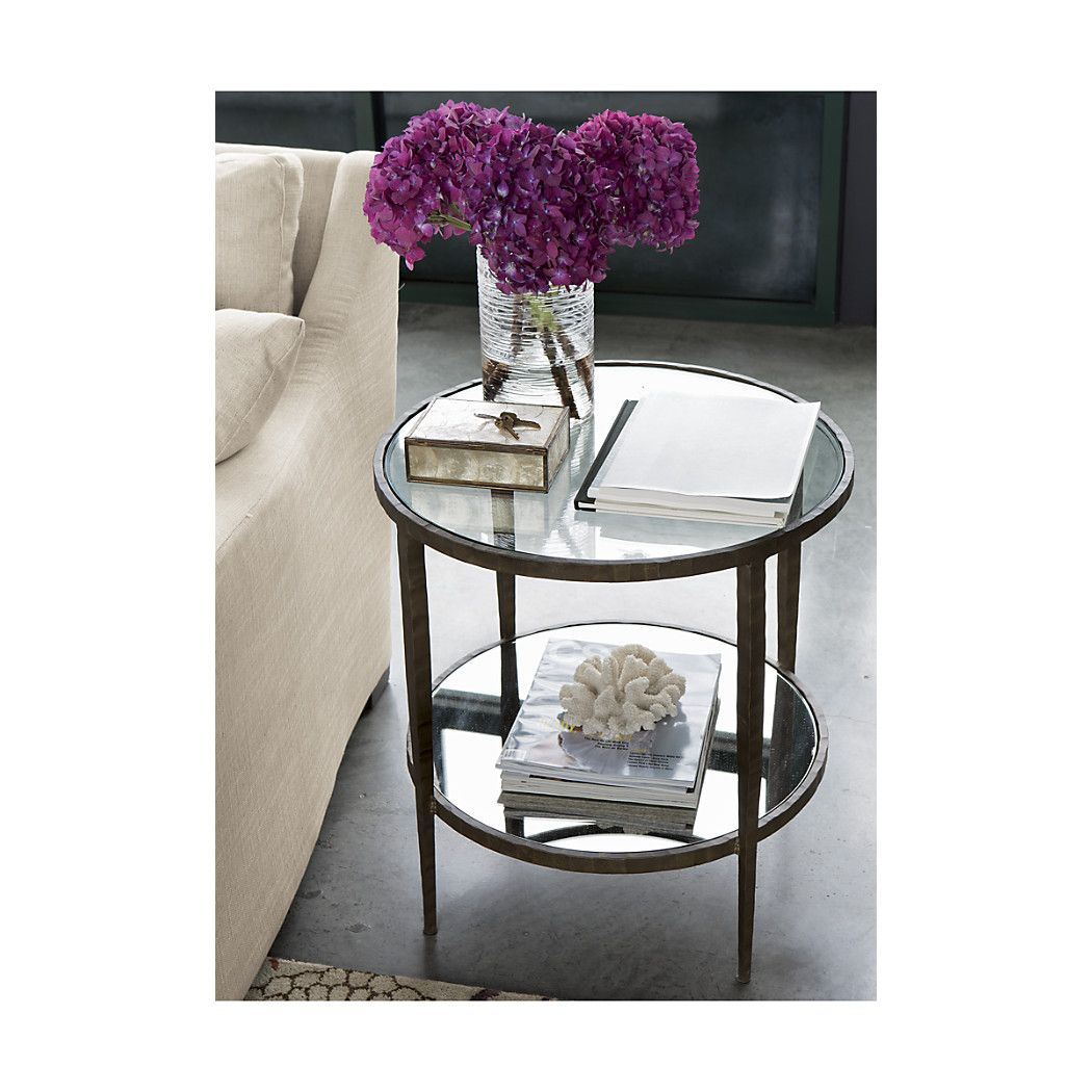 Add A Unique, Stylish Furniture To Your Space With Accent Tables From Crate  And Barrel