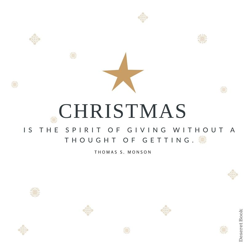 Lds Christmas Quotes.Get In The Spirit Christmas Lds Quotes Inspirational