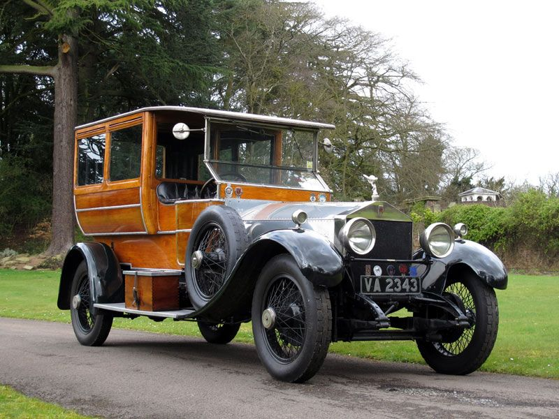 1923 Rolls-Royce Silver Ghost Shooting Brake Auction - Classic Car ...