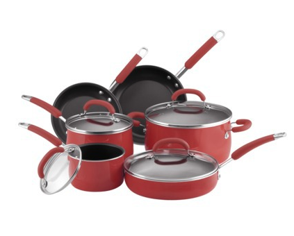 why i love rachael rayu0027s 10piece cookware set find out why these pans are