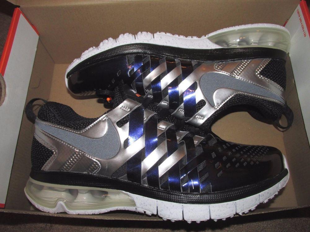Nike Fingertrap Max AMP Super Bowl XLIX Mens Training Shoes 9.5 Ink 644672  501  Nike  RunningCrossTraining bdf58f985