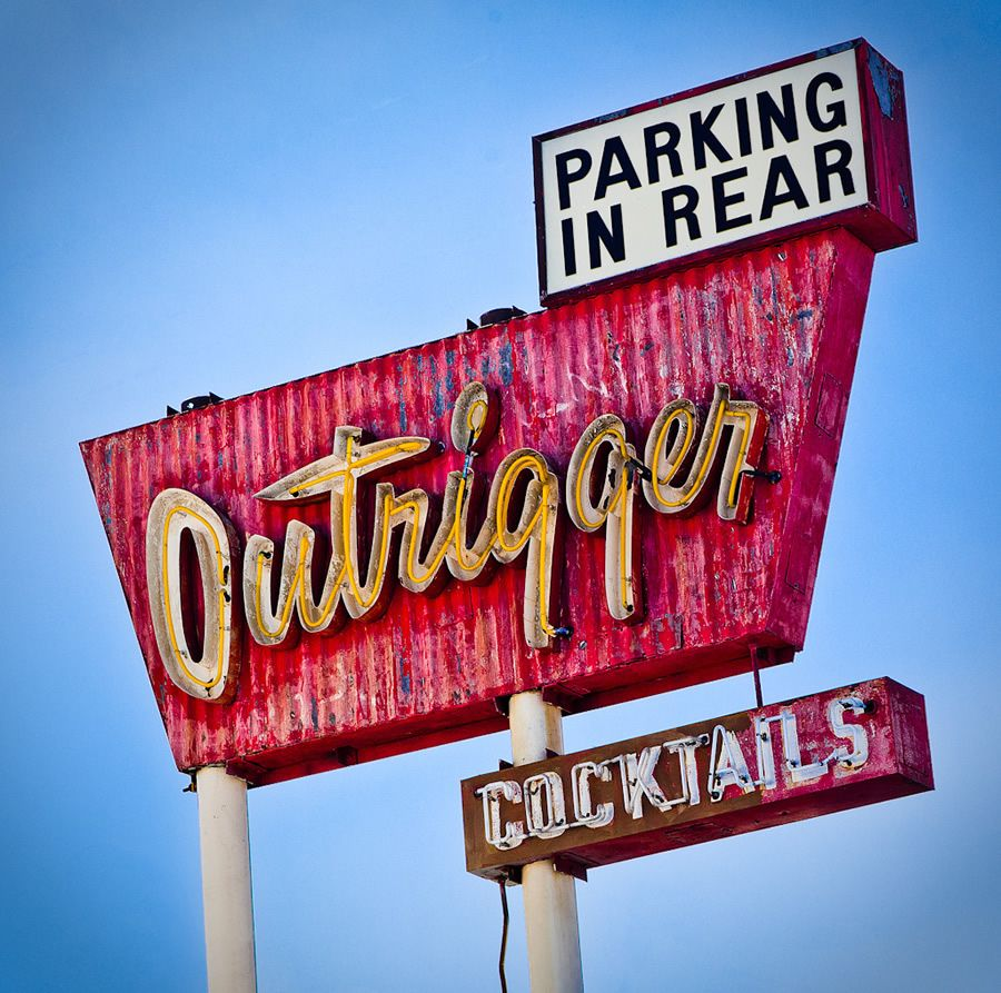 It S A Little Worn By Life You Park Around The Back Drinks Available Probably A Little Seedy Be Inte Old Neon Signs Vintage Neon Signs Illuminated Signs
