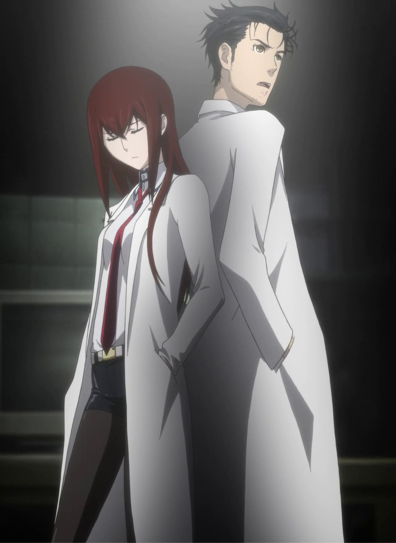 Image result for rintaro and kurisu