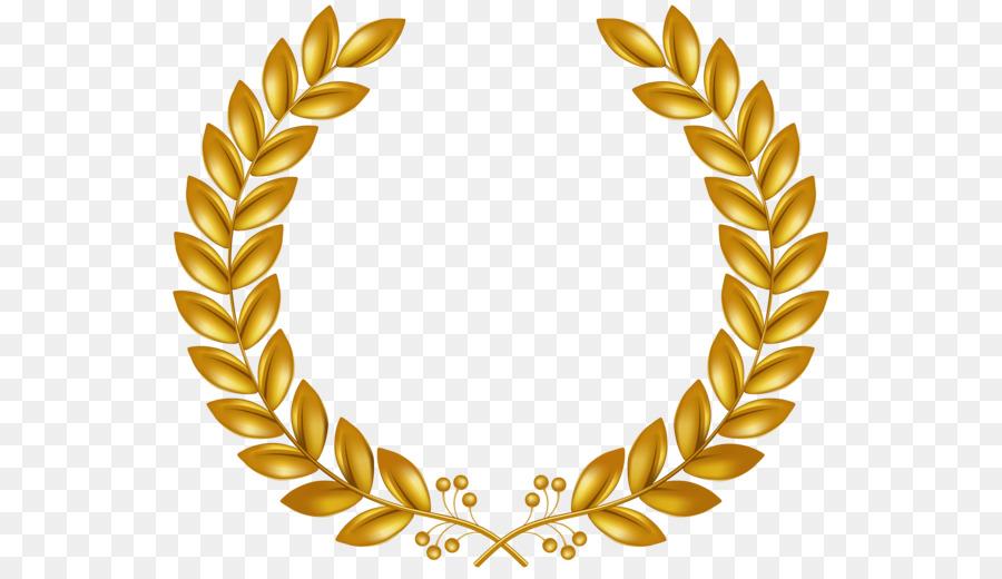 Laurel Wreath Clip Art Gold Wreath Png Download 600 514 Free Wreath Clip Art Gold Wreath Wreath Clip