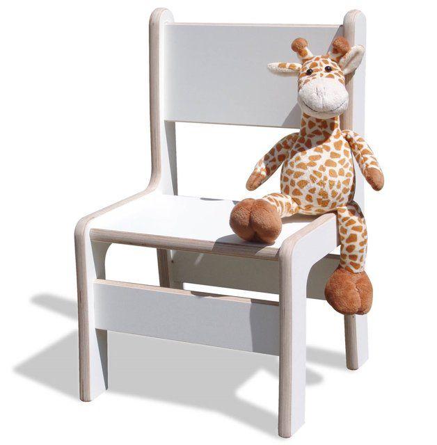 Stühle - Kinderstuhl - NEU - sehr stabil - weiß - ein Designerstück von Holzsiegel bei DaWanda