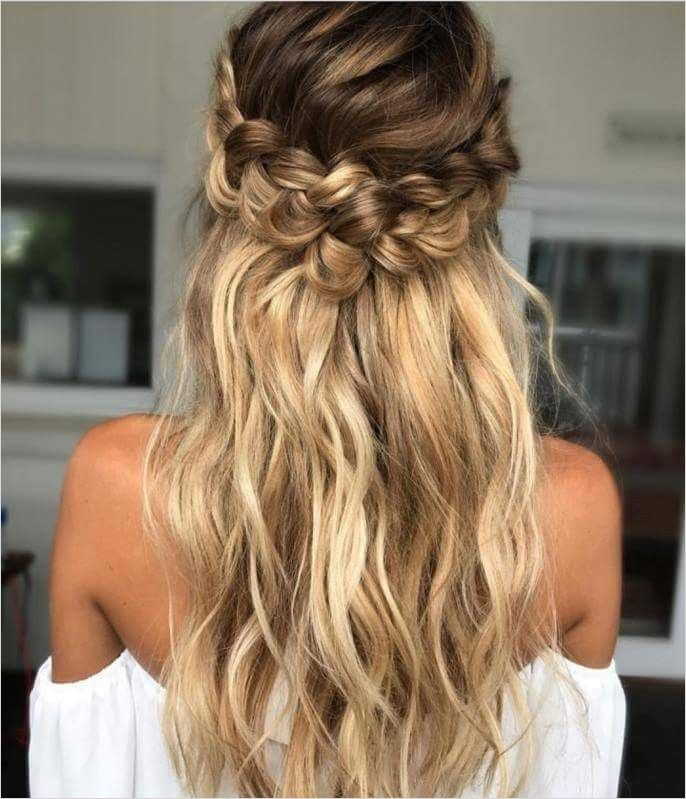 44 Beautiful Waterfall Braid Hairstyles For Winter Ball 52 60 Classy