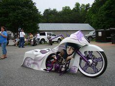 Awesome Bike Made by my Friends @ Back Yard Baggers!