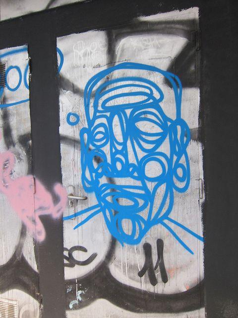 IMG_9100 by Diane Silveria, via Flickr  Barcelona street art