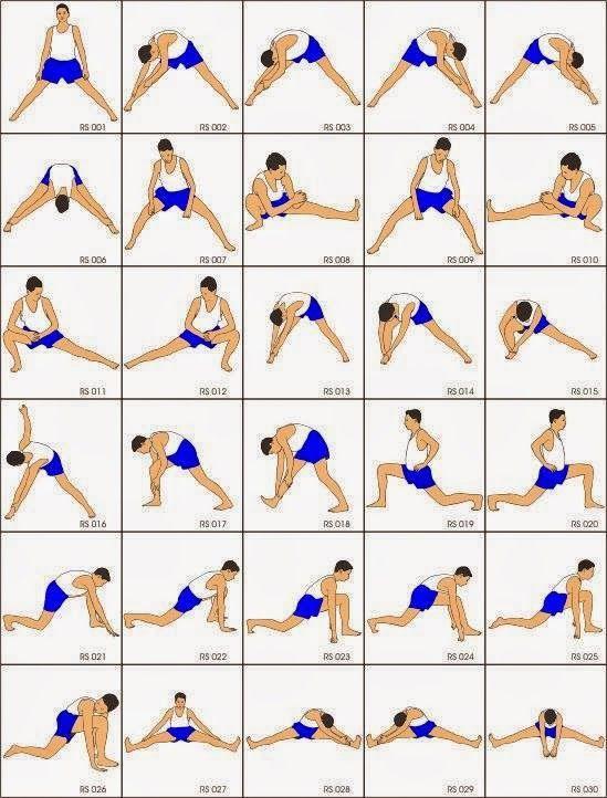 كل تمارين الإحماء والإطالة الاستريتش وفوائدها Bodybuilding Secrets اسرار كمال الاجسام كمال اجسام Workout Warm Up Stretching Exercises Pilates Stretches