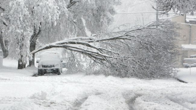 May 2013 gave us two unusual snow events. During the first