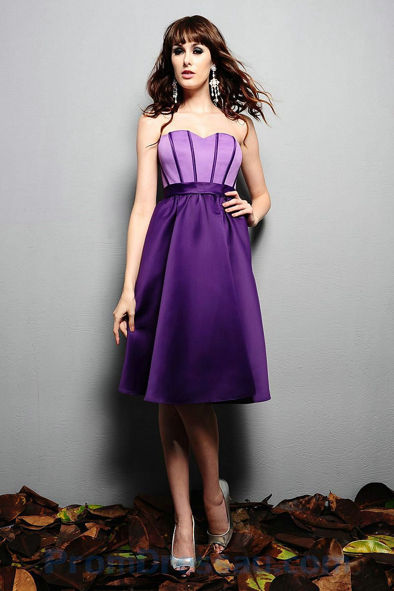 bridesmaid dresses purple | ... Line Sweetheart Two Tone Lilac and ...