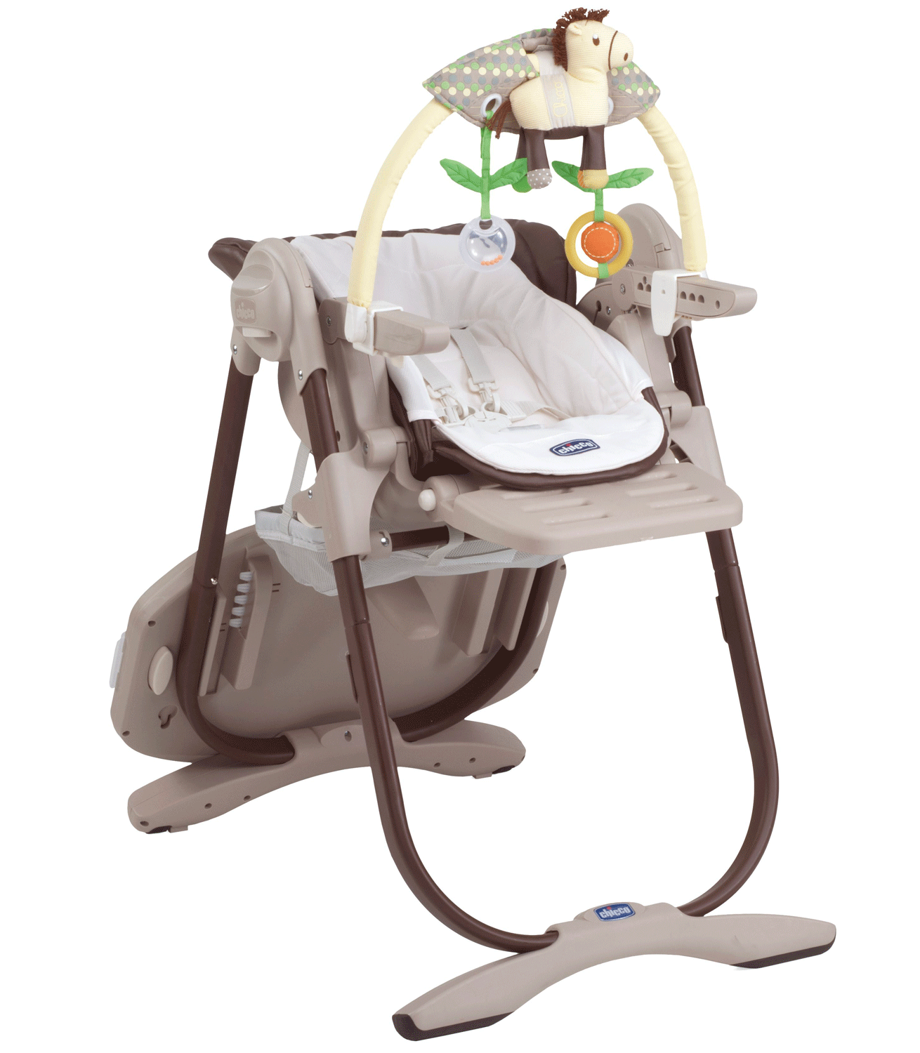 Chicco Polly Magic Highchair Brown Kiddicare Best Baby High