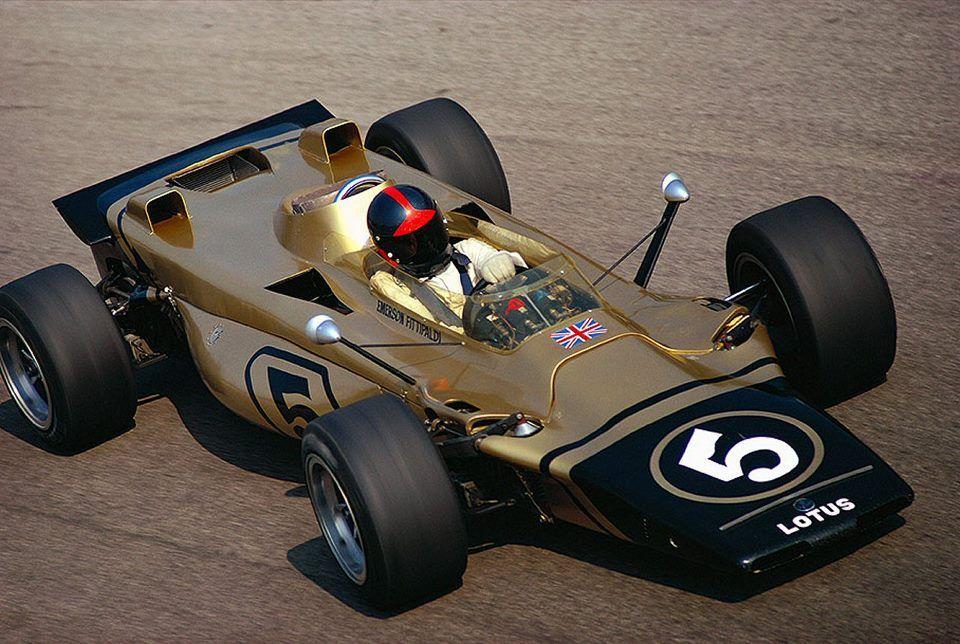 Coche De Fórmula 1 LOTUS 56B 1971 EMERSON FITTIPALDI