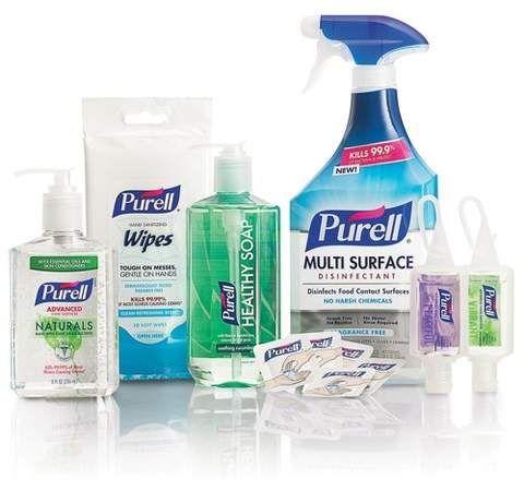 Purell Home Wellness Kit Wellness Kit Hand Sanitizer Wellness