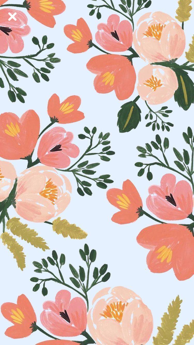 Vintage Flowers Wallpaper Flower Backgrounds Floral Wallpapers Bedroom Screensaver Peaches Art Illustrations Patterns