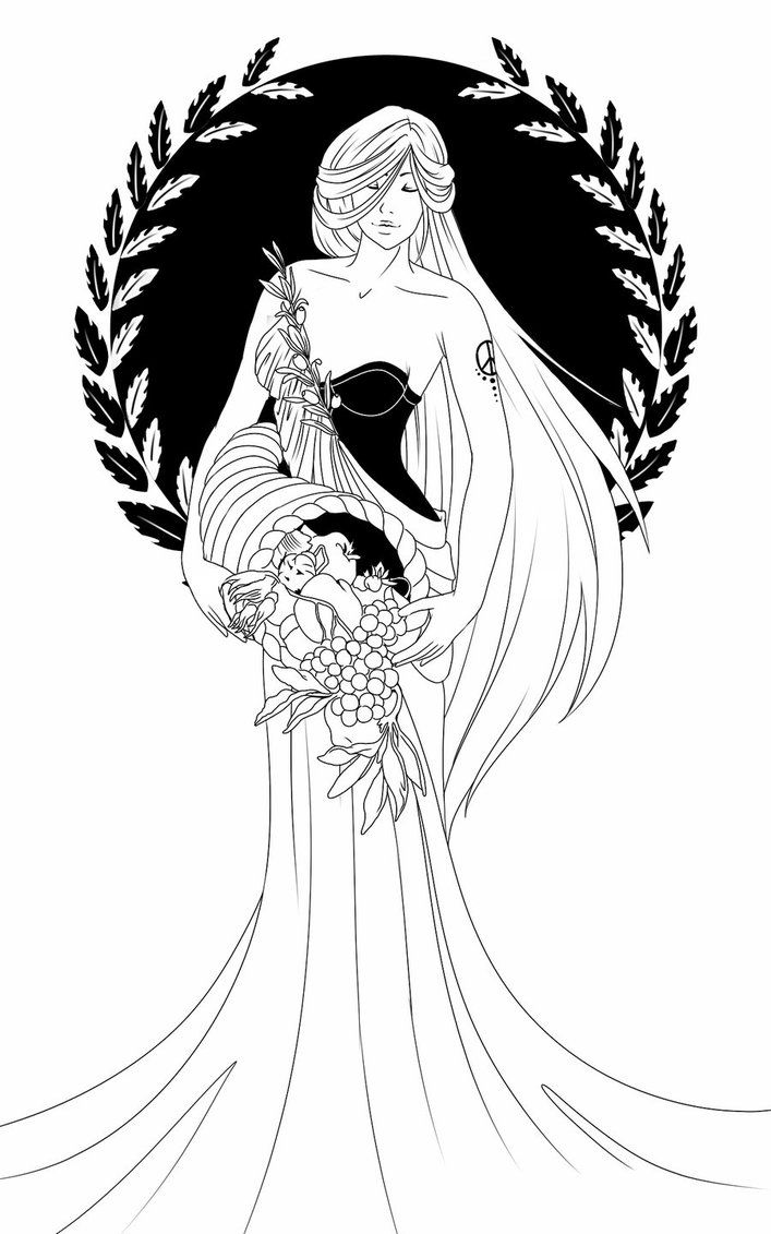eirene by miyu yoru on deviantart colouring femme