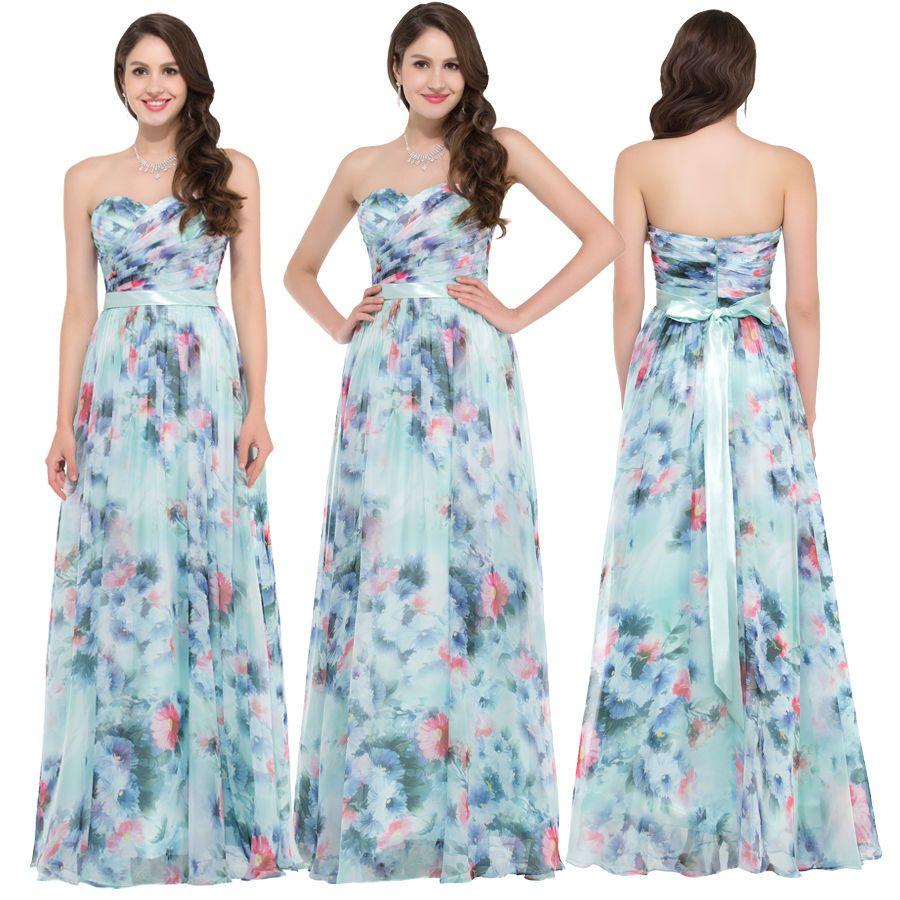 Womens summer vintage flower pattern strapless chiffon beachwear