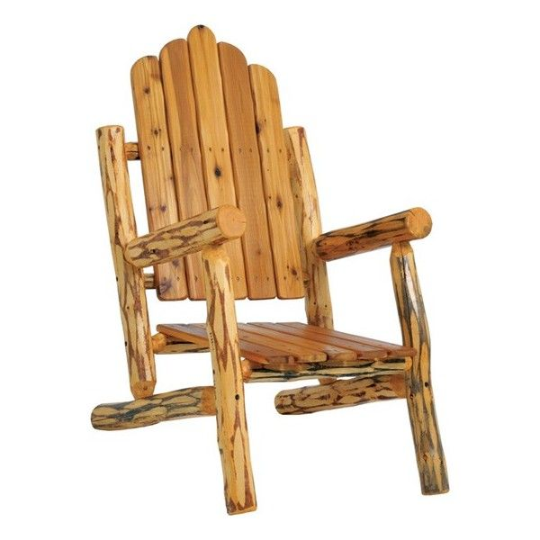 Log Adirondack Chairs