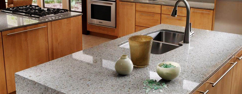 Beautiful Quartz Tile Countertop Ideas - Home Decorating Ideas and ...