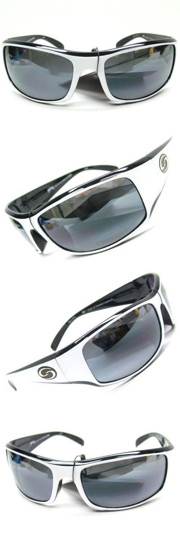 ae6f6edc643 Sunglasses 151543  Strike King S11 Optics White Black Okeechobee Gray  Polarized Lens Sunglasses -