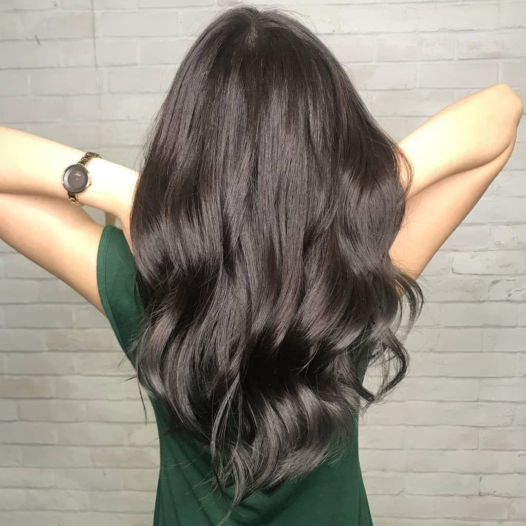 Deep Matte Ash Brown Hair Colour For An Ultra Natural Looks Hair