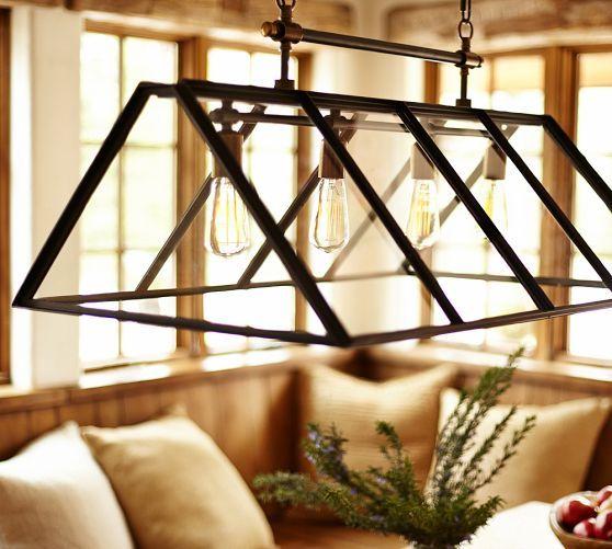 Greenhouse Indoor/Outdoor Chandelier | Pottery Barn | Home Sweet ...
