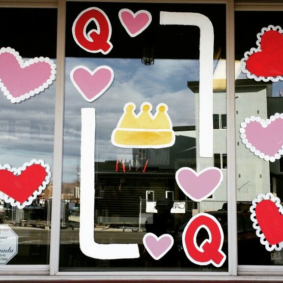Valentine S Day Window Painting Done By Jannalm Gmail Com Reno Nv Valentine Decorations Window Painting Crafts