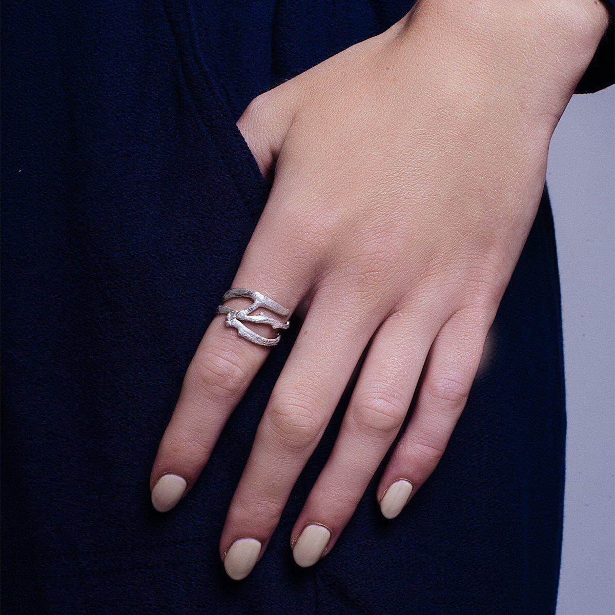 Three Twist Ring Matt Polish | Pinterest | Twist ring, Third and Ring