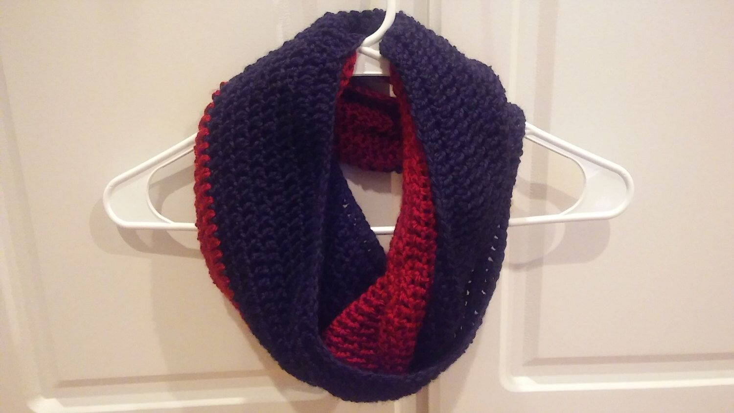 Infinity Scarf Pattern, Infinity scarf, Two tone scarf by ...