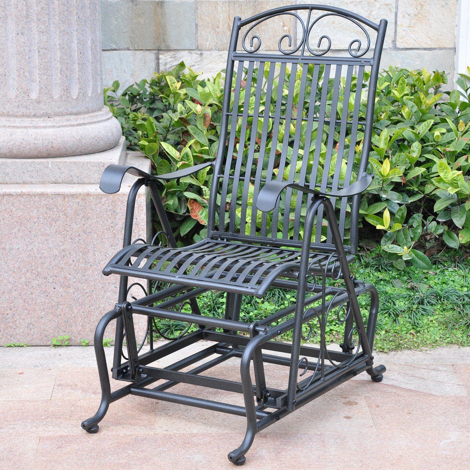 International Caravan Patio Furniture.International Caravan Metal Outdoor Glider Chair Patio Pinterest