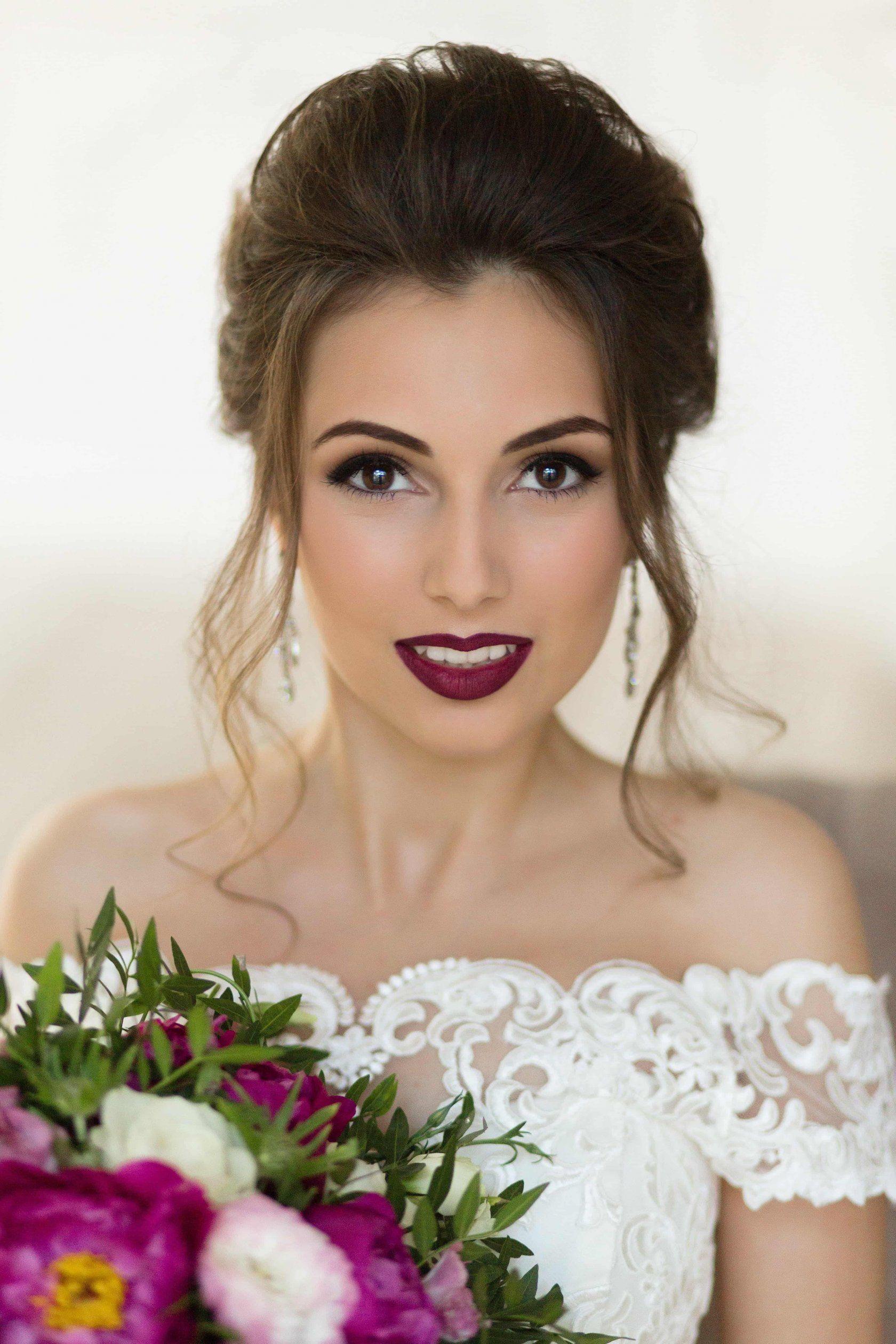 Макияж на свадьбу [2018] — Пошаговый make-up | Свадебные ...