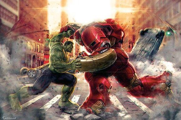 macacomalandro: 'Vingadores 2: A Era de Ultron' atacam em imagens promocionais