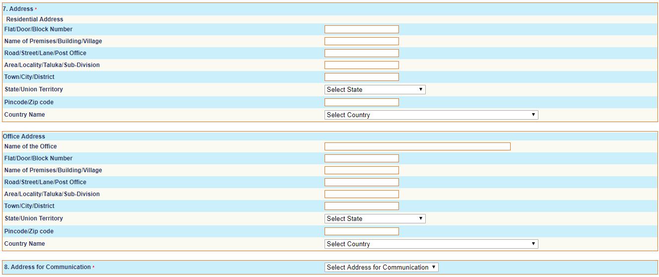 uti pan card form online | Application form, Cards, Uti