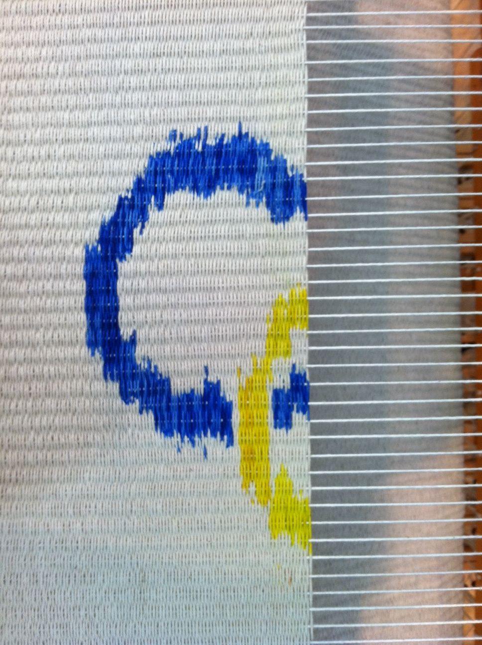 innovative weft ikat weaving at TAC