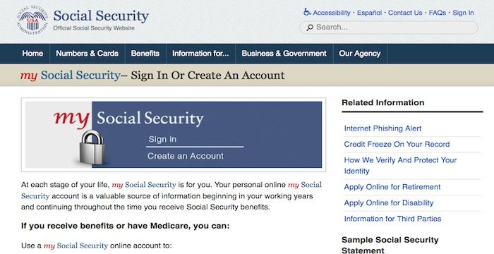 Social Security Login Login Archives Social Security Retirement