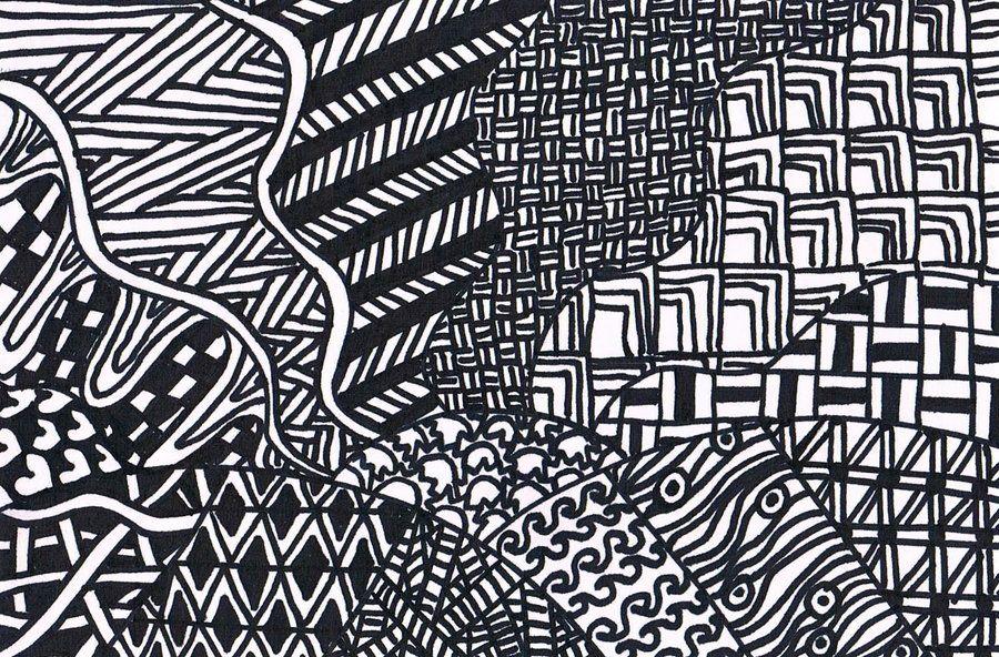 Landscape Zentangle By SaraSoulSister40 On DeviantArt Zentangle Amazing Cool Zentangle Patterns